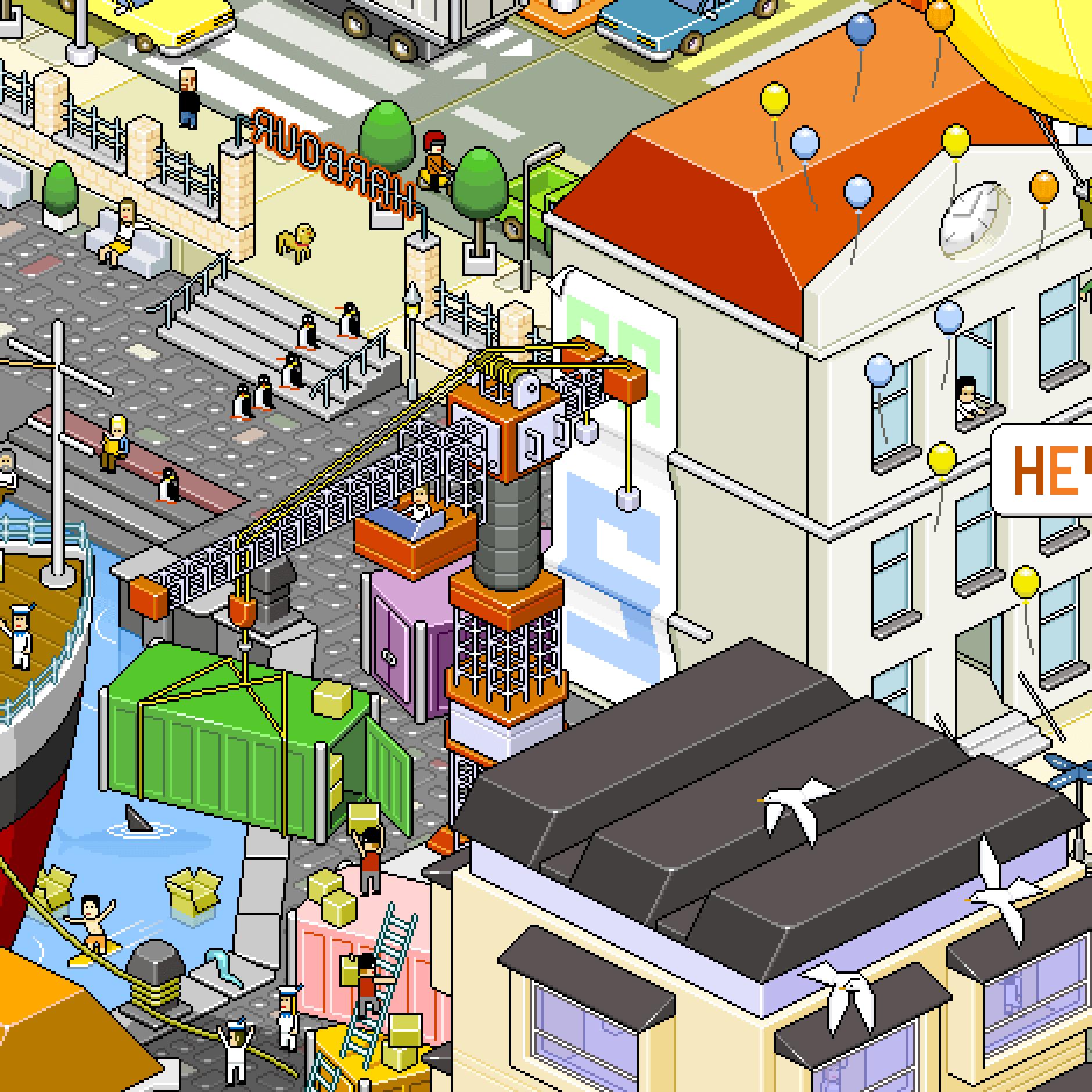 Panc pixelart